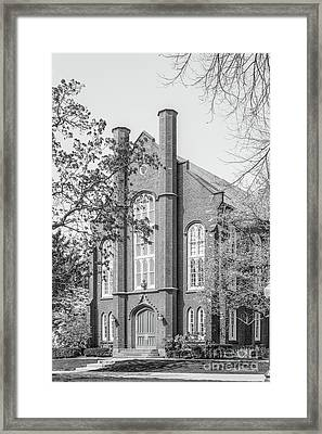 Franklin And Marshall College Goethian Hall Framed Print by University Icons