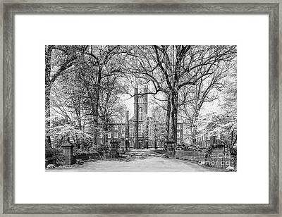 Franklin And Marshall College Manning Alumni Green  Framed Print by University Icons