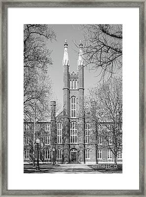 Franklin And Marshall College Old Main Framed Print by University Icons