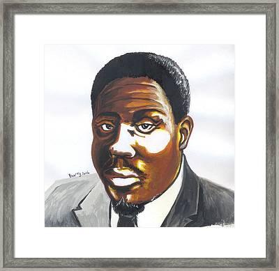 Franklin Boukaka Framed Print