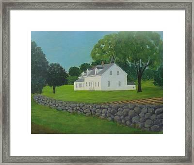 Franklin Farm Framed Print