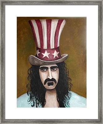 Franks Hat Framed Print by Leah Saulnier The Painting Maniac