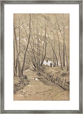 Franz Xaver Von Riedmller Framed Print