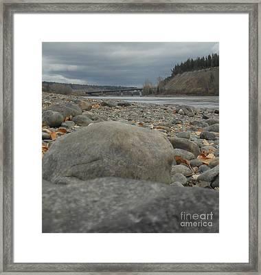 Fraser River Framed Print