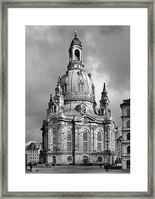 Frauenkirche Dresden - Church Of Our Lady Framed Print by Christine Till