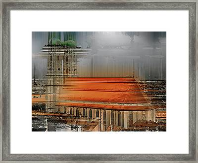 Frauenkirche In Munich, Germany Framed Print by Horst Tomaszewski