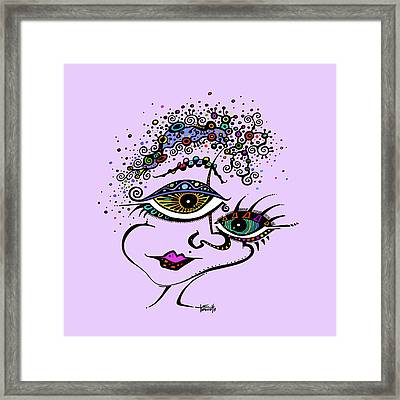 Frazzled Framed Print by Tanielle Childers