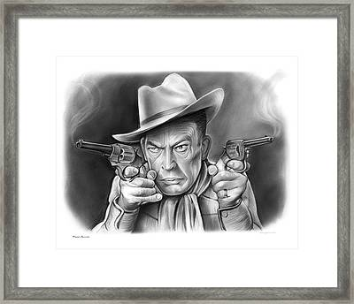 Fred Allen Framed Print by Greg Joens