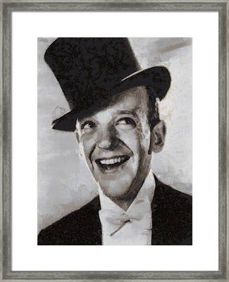 Fred Astaire Hollywood Legend Framed Print by John Springfield