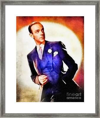 Fred Astaire, Vintage Hollywood Legend Framed Print