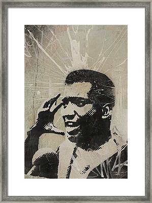 Fred Hampton Framed Print