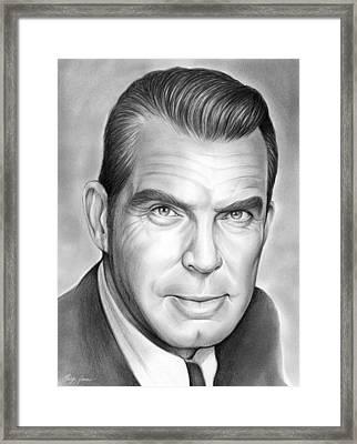 Fred Macmurray Framed Print
