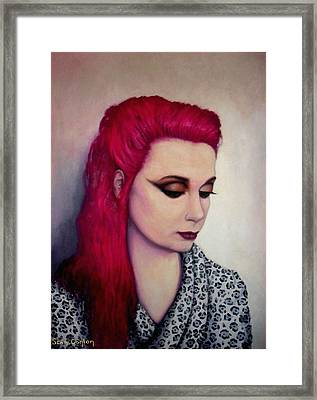 Freda Framed Print by Sean Conlon
