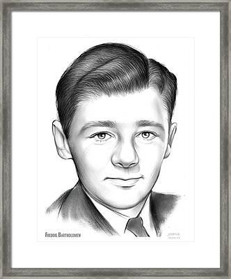 Freddie Bartholomew Framed Print