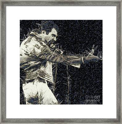 Freddie Mercury, Queen Framed Print