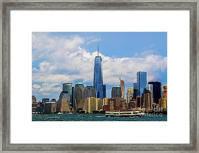 Freedom Tower Nyc Framed Print