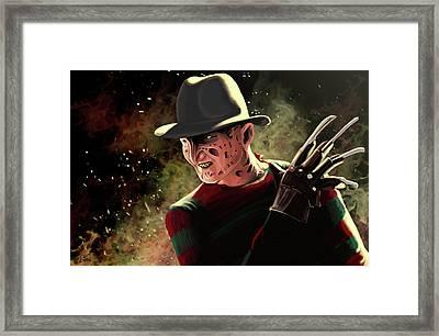 Freddy Framed Print by Matt James