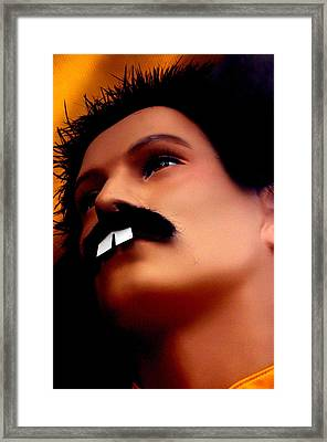 Freddy Mercury 3 Framed Print by Jez C Self