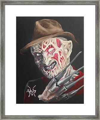 Freddy's Back Framed Print