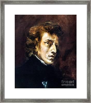 Frederic Chopin Framed Print by Granger
