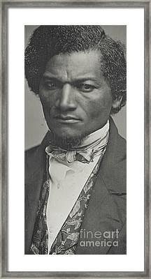 Frederick Douglass Framed Print by American School
