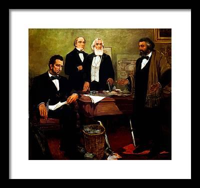Douglass Framed Prints
