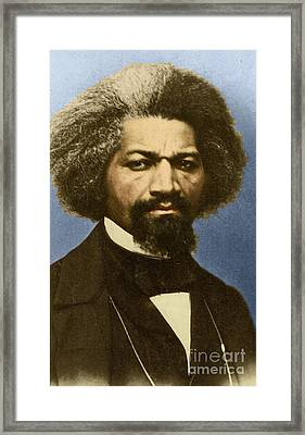Frederick Douglass Framed Print by Science Source