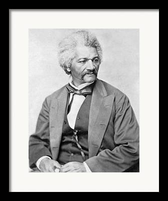 Frederick Douglass Photographs Framed Prints
