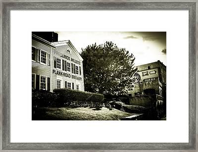 Frederick Miller Time Framed Print by Vincent Buckley
