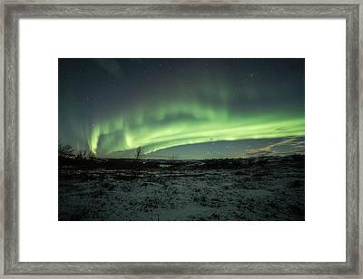 Fredfult Framed Print by Roy Haakon Friskilae