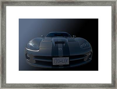 Fred's Baby Front End Framed Print