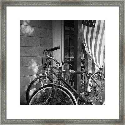 Free And Easy Going  Framed Print