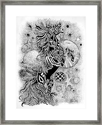 Free At Last Framed Print by Yvonne Blasy