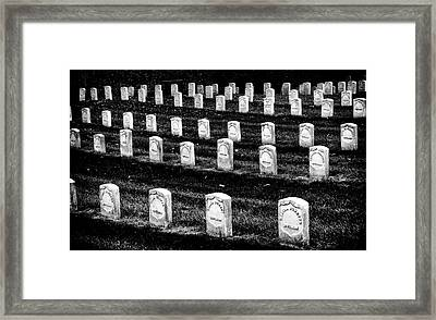Free Black Section Framed Print by Paul W Faust - Impressions of Light