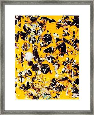 Framed Print featuring the painting Free Expression by Inga Kirilova