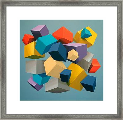 Free Fall Framed Print by Marston A Jaquis