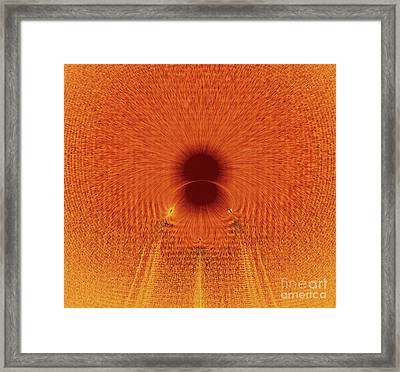 Free Fall Framed Print