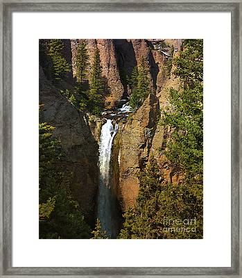 Framed Print featuring the photograph Free Fall by Robert Pearson