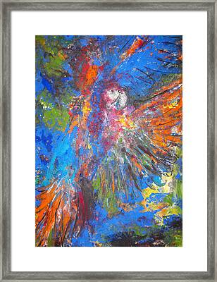 Free Flight Framed Print