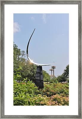 Free Form  Framed Print by Karen Silvestri