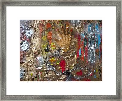 Free From Chains Of Oppression Framed Print by Amanda Weckwerth
