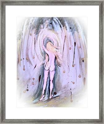 Free Girl Framed Print