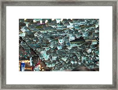 Free Money Framed Print