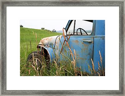Free Parking Framed Print by Doug Hockman Photography