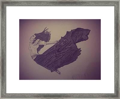 Free Soul Framed Print by Kiran Kumar