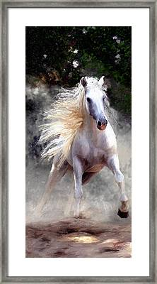 Framed Print featuring the painting Free Spirit #2 by James Shepherd