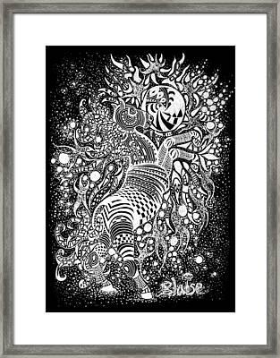 Free Spirit Framed Print by Yvonne Blasy
