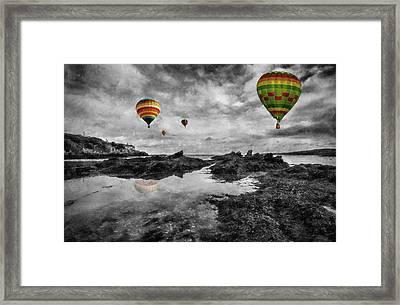 Free Spirits Framed Print by Ian Mitchell