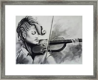 Element Of Freedom Framed Print by Christopher Kyle