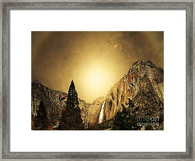 Free To Soar The Boundless Sky Framed Print by Wingsdomain Art and Photography